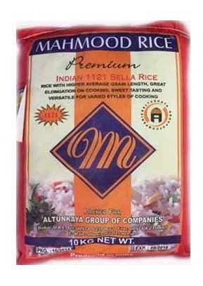 Mahmood Sella parboiled Basmati rice_Tukwila