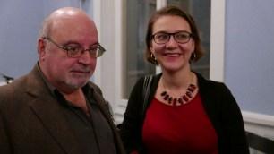 Raphaël Aubert, le parrain de Tulalu!?, et Carole Dubuis, la présidente de l'association © Jean-Claude Boré