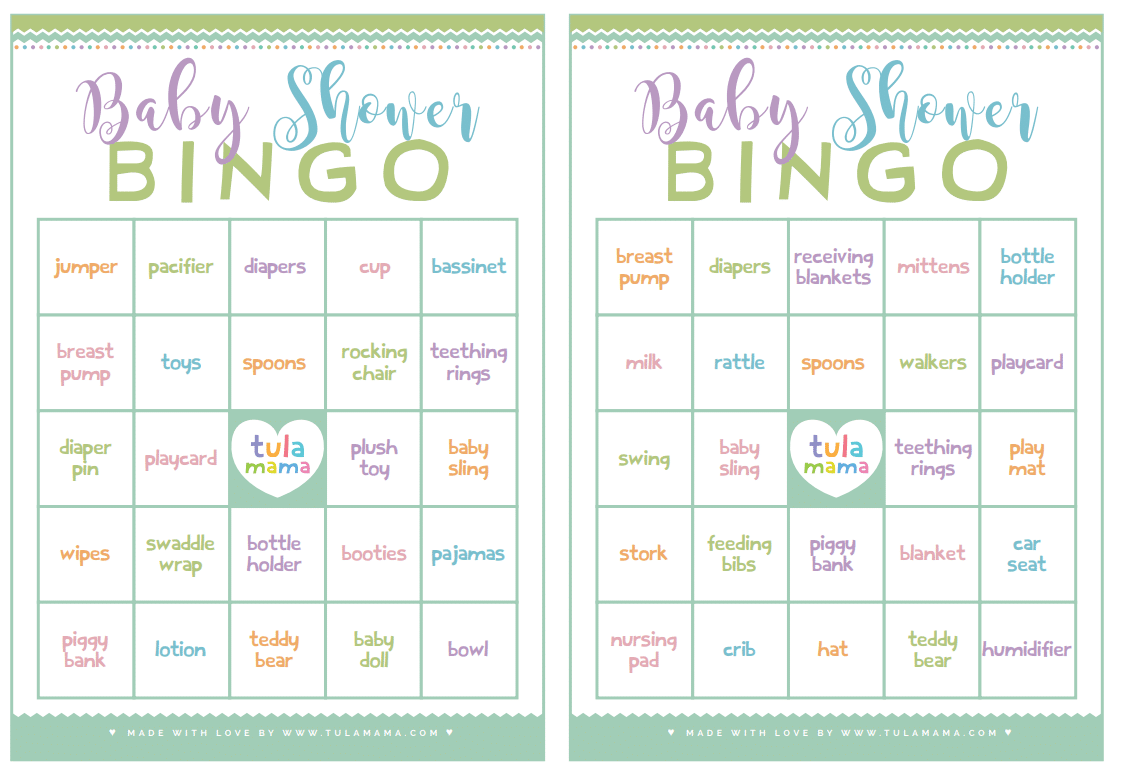 New Mom Approved Cute Free Printable Baby Shower Games