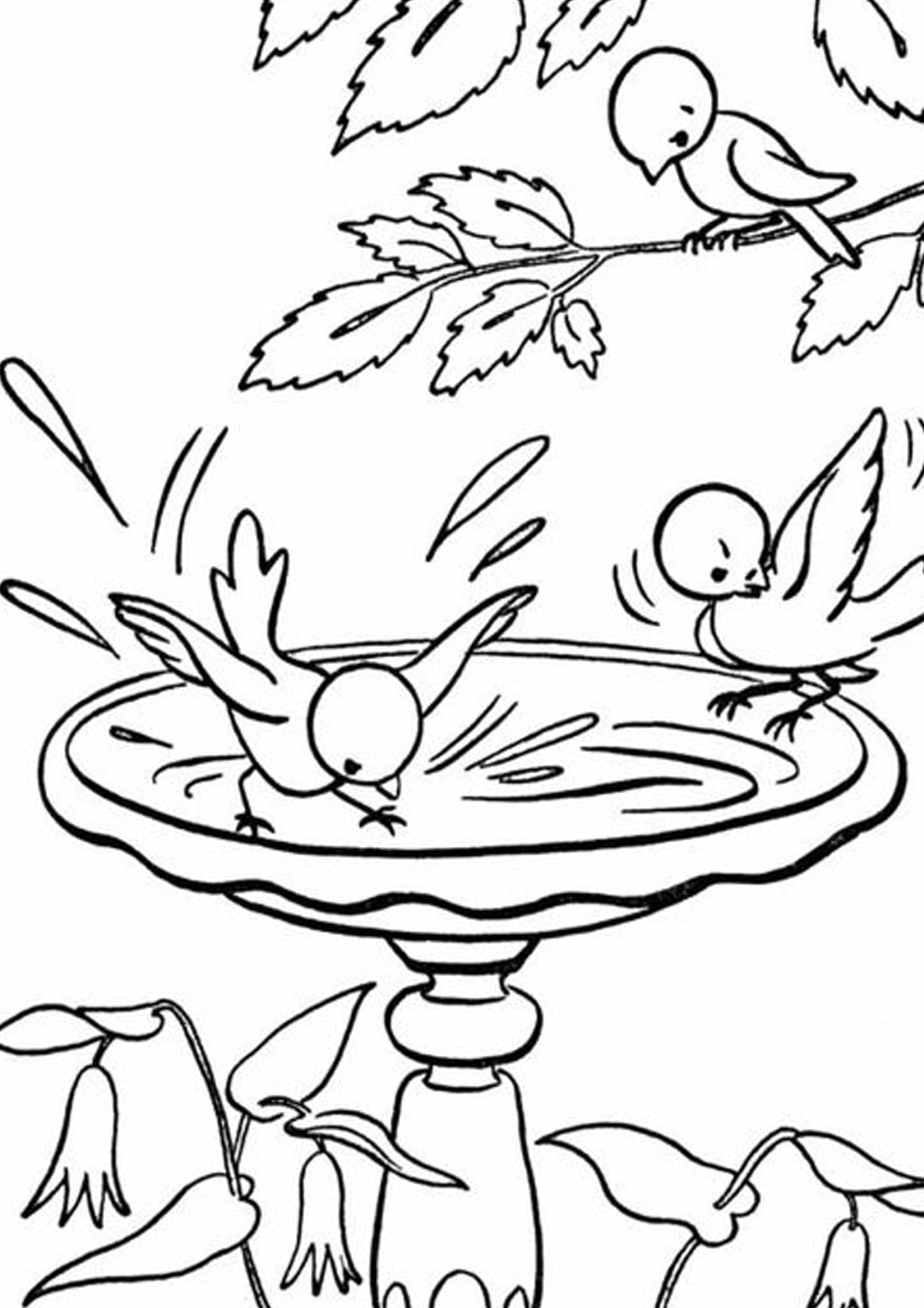 Free Amp Easy To Print Bird Coloring Pages