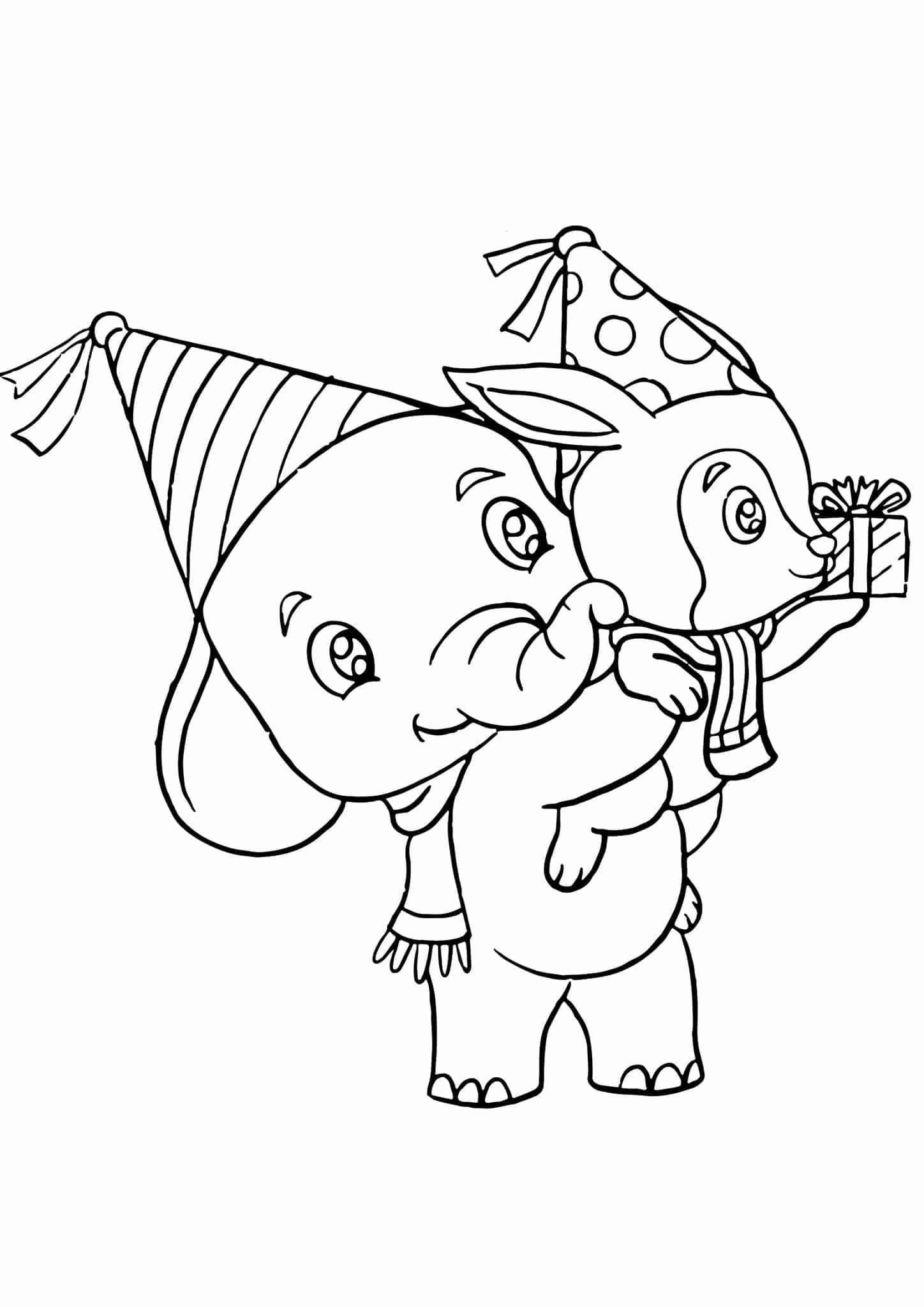 Coloor Elephant Worksheet Printable Worksheets And Activities For Teachers Parents Tutors And Homeschool Families