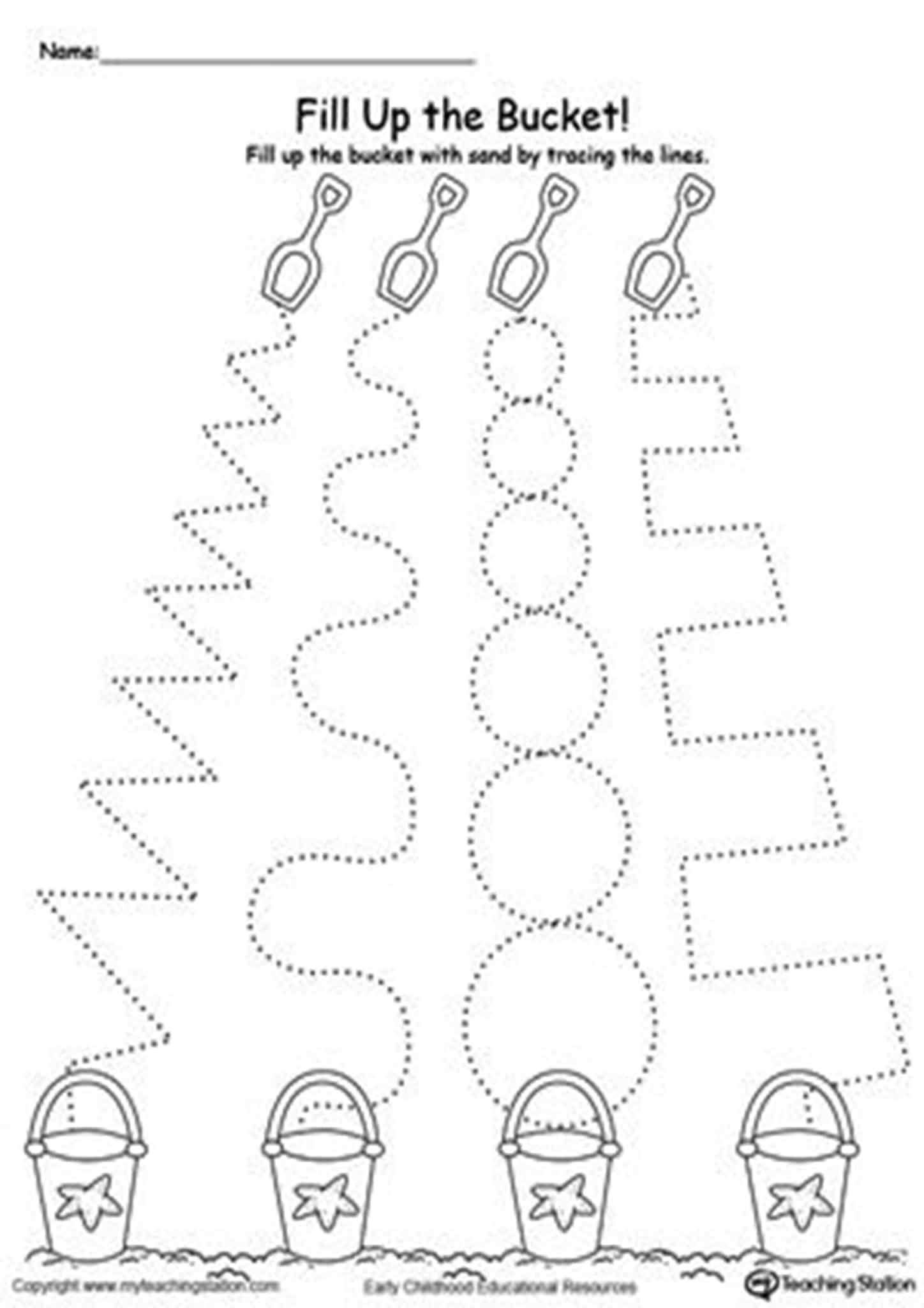 Free And Easy To Print Tracing Lines Worksheets