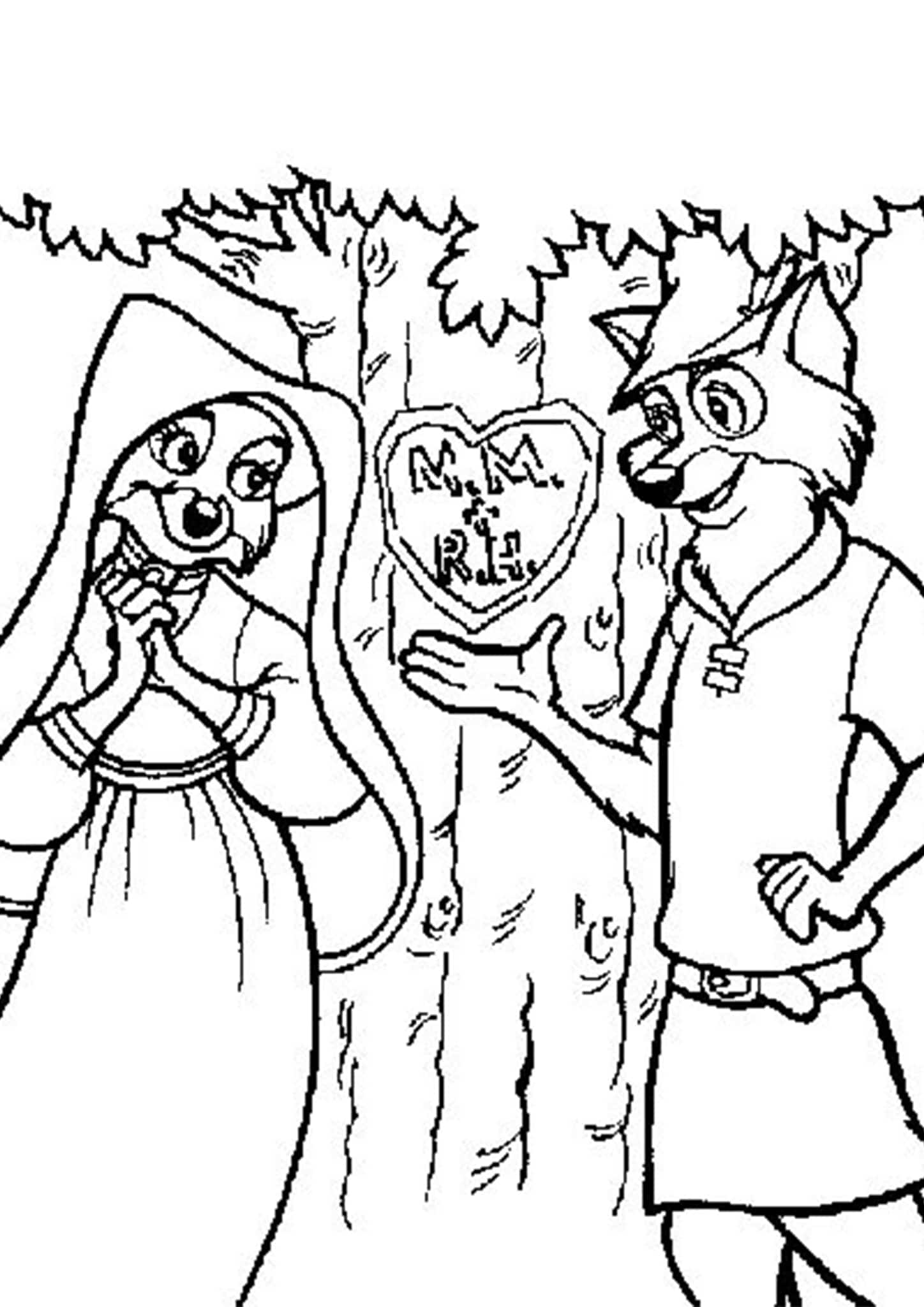 Free Amp Easy To Print Fox Coloring Pages