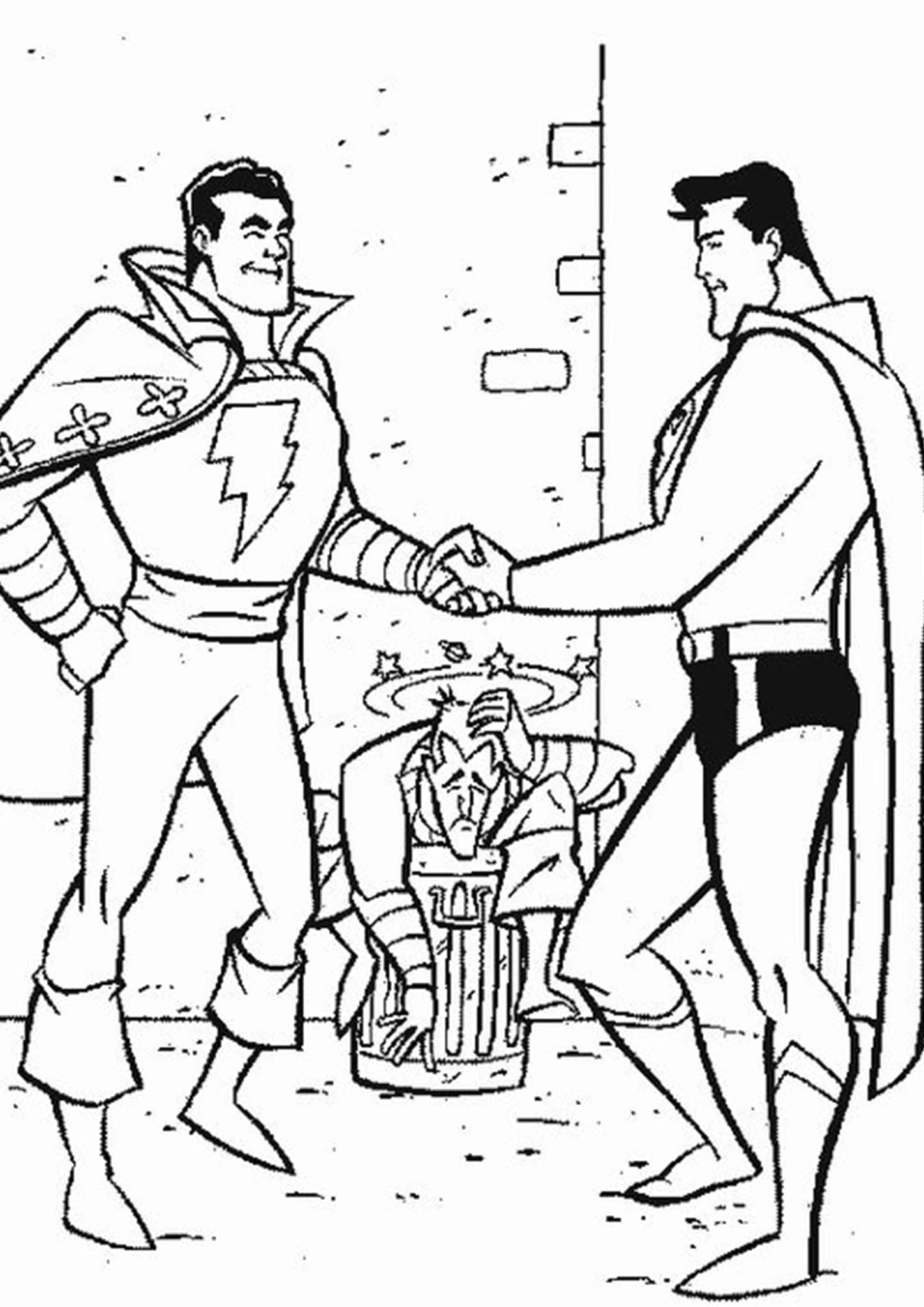 🎨 Free Superman 0f02 - Kizi Free 2020 Printable Coloring Pages ... | 2048x1448