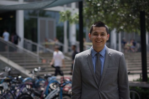 Q&A: VPSL Khristyan Trejo plans to open dialogue on campus