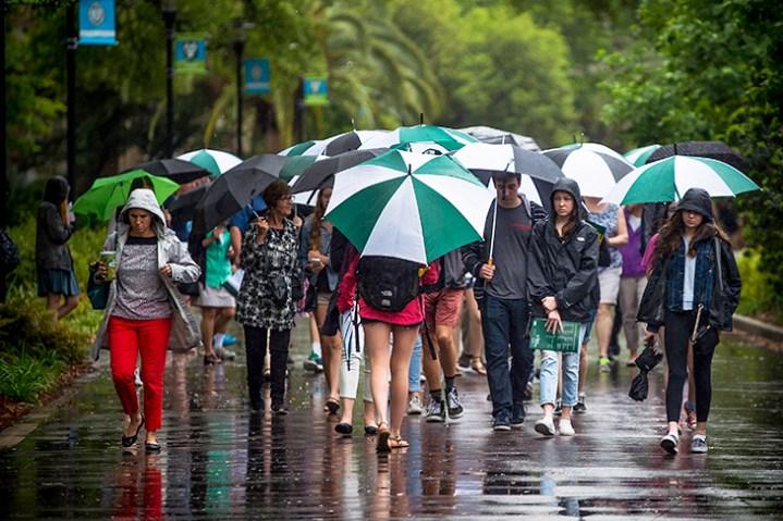 """U-Lend"": Umbrella Sharing Business on Campus"