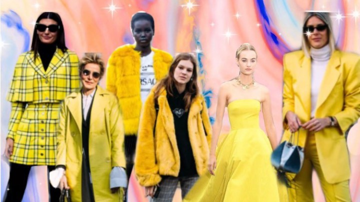 "Say Hello to Yellow, This Season's ""It"" Color"
