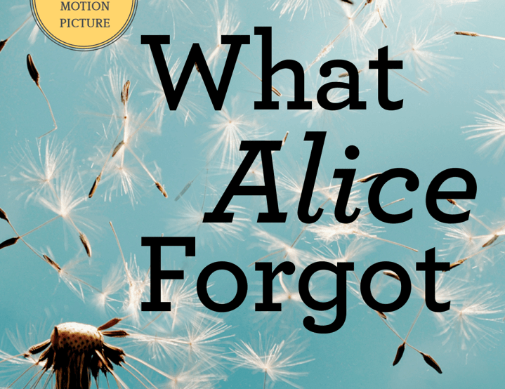 "The Crescent Book Club: ""What Alice Forgot"""