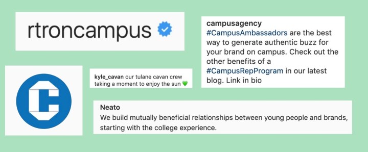 Brand Ambassadors: Tulane's Latest Trend?