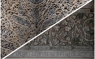 Granada y Toledo, siglo XIV. Lo árabe y lo andalusí en la Sinagoga del Tránsito.