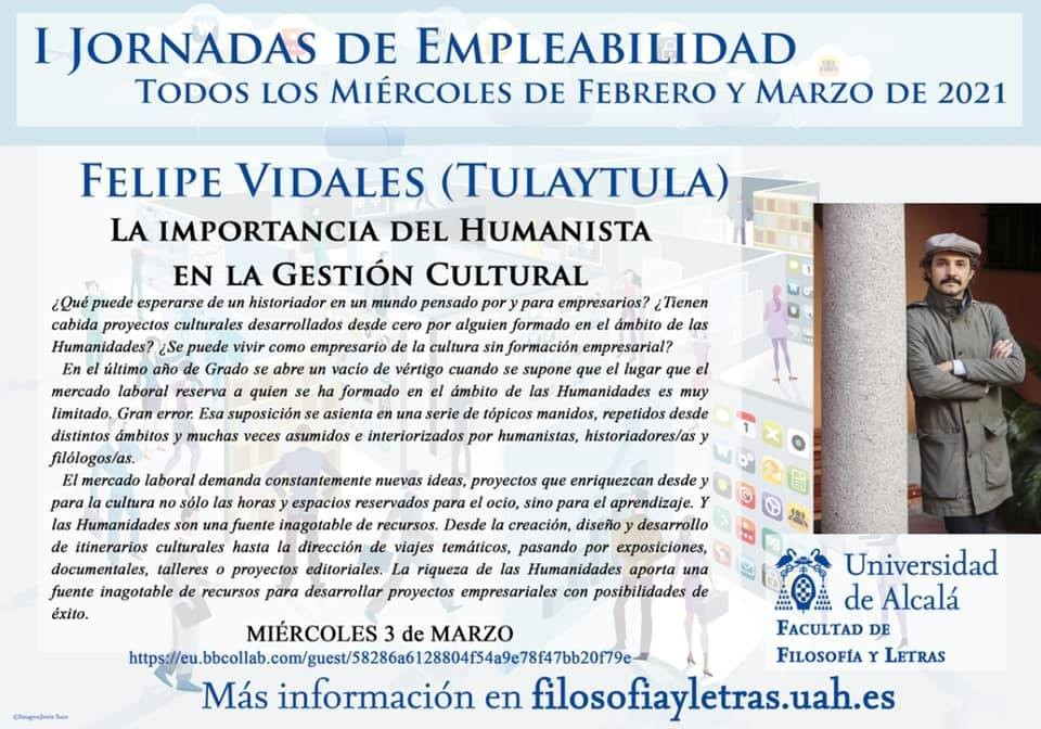 I Jornadas de empleabilidad de la Universidad de Alcalá de Henares (Marzo, 2021)