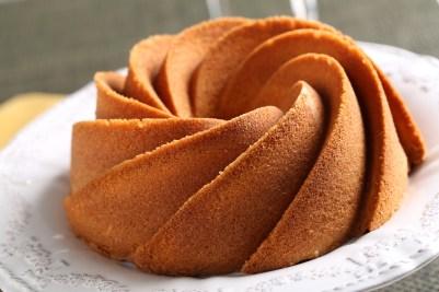 Torta casera de vainilla