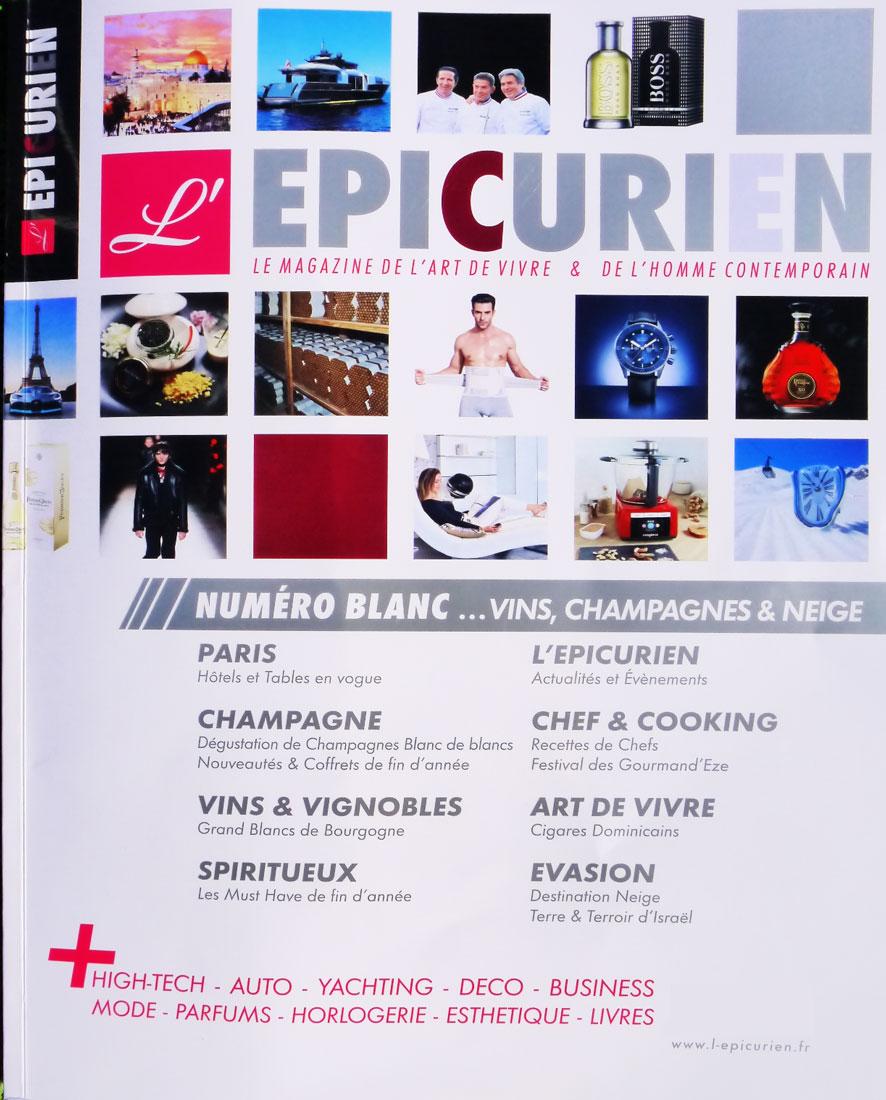 L'épicurien Magazine Luxury Champagne Bucket