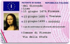 Spanish driving license