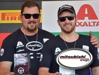 Mitsubishi Cup: Fred e Nick Macedo vencem em Jaguariúna e sobem na classificação do campeonato