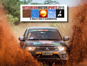 Primeiro ano oficialmente no Mitsubishi Motorsports