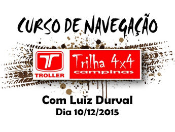 Aula de navegação com Luiz Durval na Troller – Trilha 4×4 Campinas