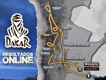 Rally Dakar: Resultados em tempo real