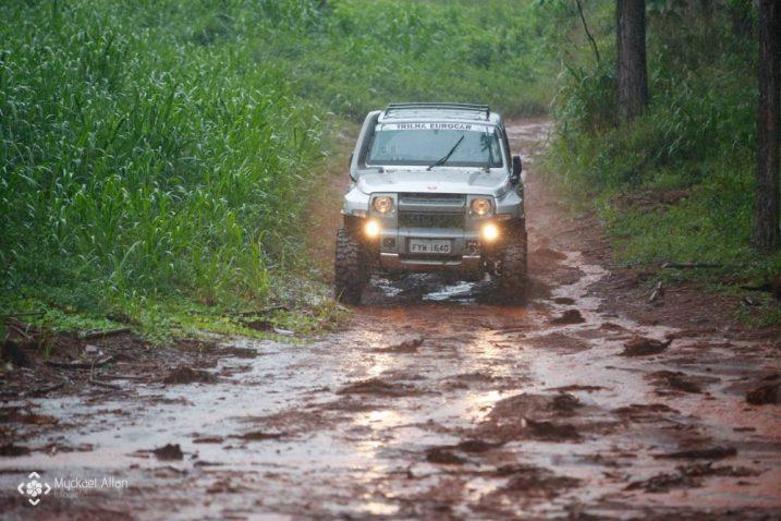 A prova atraiu competidores de diversas cidades do Paraná (Foto: Myckael Allan)