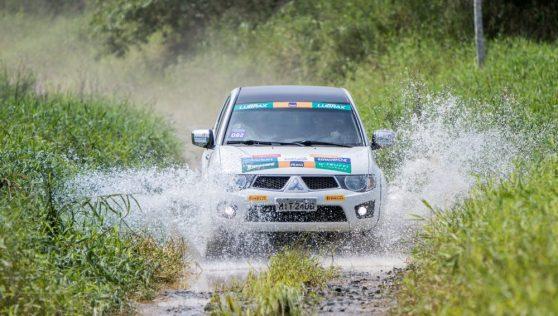 Prova terá muitos desafios off-road Crédito: Marcio Machado / Mitsubishi