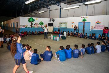 Ação Social em parceria com o Projeto Ideia Fixa no ano de 2014 em Botucatu Créditos: Nelson Santos Jr./Photo Action