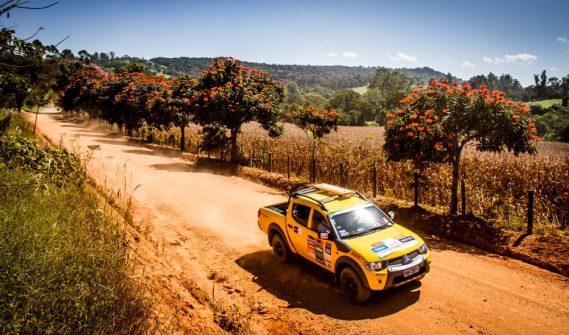 Paisagens fantásticas ao longo das trilhas Crédito: Adriano Carrapato / Mitsubishi