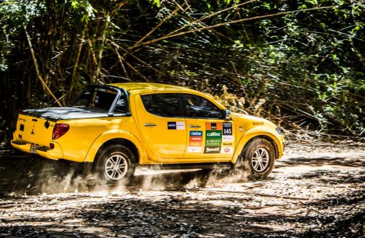 Provas desafiaram os competidores Crédito: Adriano Carrapato / Mitsubishi