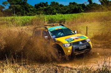 Trilhas e estradas da região são os cenários da aventura Crédito: Cadu Rolim / Mitsubishi