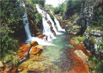 Cachoeiras são atração em Cavalcante. Foto: http://www.cavalcante.go.gov.br/pontos-turisticos