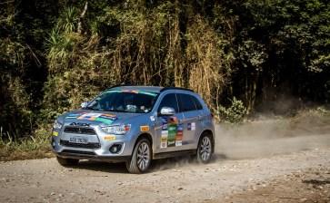 ASX 4x4 também pode participar da competição Crédito: Adriano Carrapato / Mitsubishi
