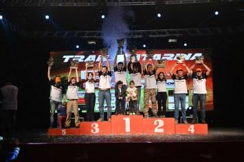 Pódio final da categoria Júnior (Ale Moreira/DFOTOS)