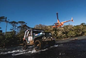 Saíram na frente na categoria Jeep, Kassiano Kerber e Michael da Silveira Masson (Victor Eleutério/DFOTOS)