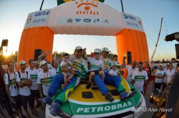 Campeões do Rally dos Sertões