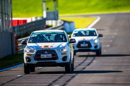Duplas também vão correr na pista do Autódromo Velo Città Crédito: Cadu Rolim/Mitsubishi