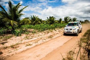 Já a Turismo Light percorrerá 140 km Crédito: Ricardo Leizer / Mitsubishi