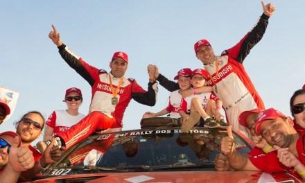 Equipe Mitsubishi Ralliart Brasil vence o maior número de etapas no Rally dos Sertões