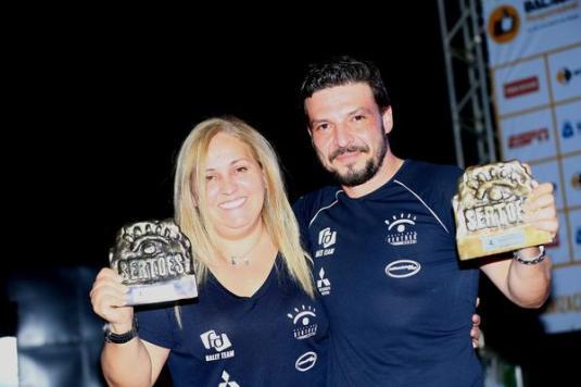Campeões do Rally dos Sertões no Regularidade/ Turismo (Marcelo Machado/Fotop)