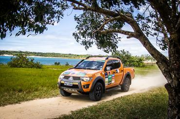 Rali passará por belas paisagens Crédito: Adriano Carrapato / Mitsubishi