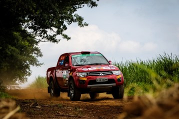 Os competidores farão também provas em kartódromo e terródromo. Foto: Adriano Carrapato/Mitsubishi
