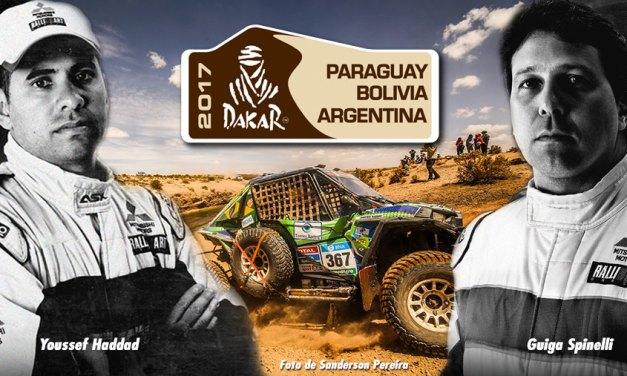 Fechamento do Dakar com Youssef Haddad e Guiga Spinelli