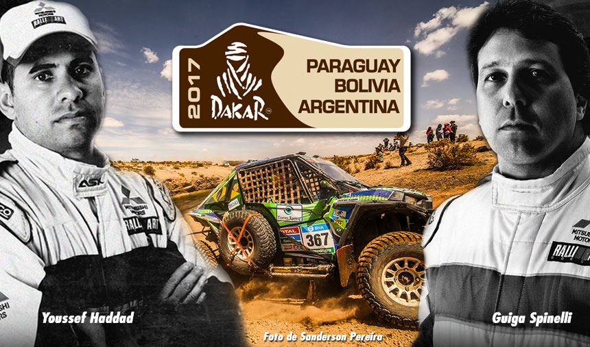 Acompanhe o Dakar com quem mais entende de Dakar, Guiga e Youssef, no Tulipa Rally