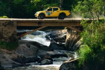 Belas paisagens e desafios off-road animam os participantes do rali. Foto: David Santos Jr/Mitsubishi