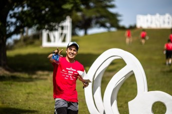 Tarefas empolgam os times e divertem os competidores. Foto: Tom Papp/Mitsubishi