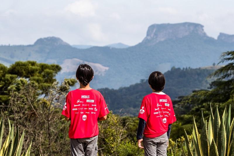 A família toda pode participar: as crianças devem ter no mínimo 10 anos. Foto: Tom Papp/Mitsubishi