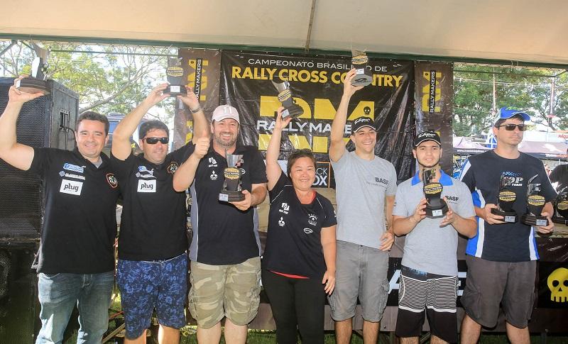 Fontoura/Minae: Vice-Campões do Rally de Barretos 2017, na Pró Brasil (Luciano Santos/DFotos)