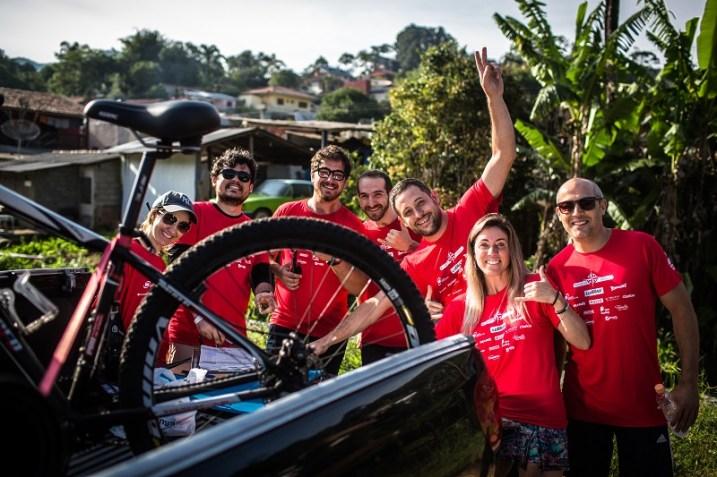Até 10 pessoas podem participar em cada equipe do Outdoor. Foto: Tom Papp / Mitsubishi