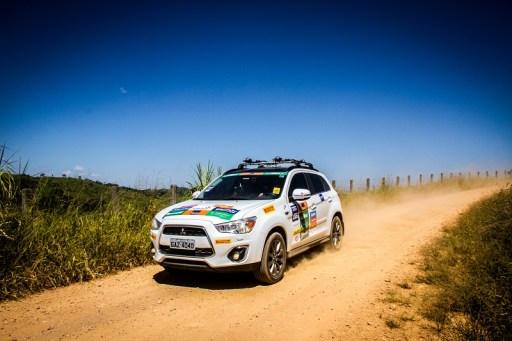 ASX também pode encarar as trilhas. Foto: Adriano Carrapato / Mitsubishi