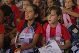 Alunos da Escola de Pedrinhas que participaram da ação de 2017 (Lucas Carvalho//Photo Action)