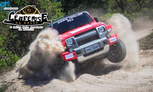 Primeira etapa do Campeonato Cearense de Rally agita a Região Metropolitana de Fortaleza