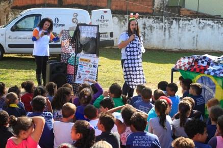 Projeto Ideia em ação social no Rally Cuesta no ano passado (Luciano Santos/DFotos)
